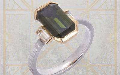 Ethical Tourmaline Ring