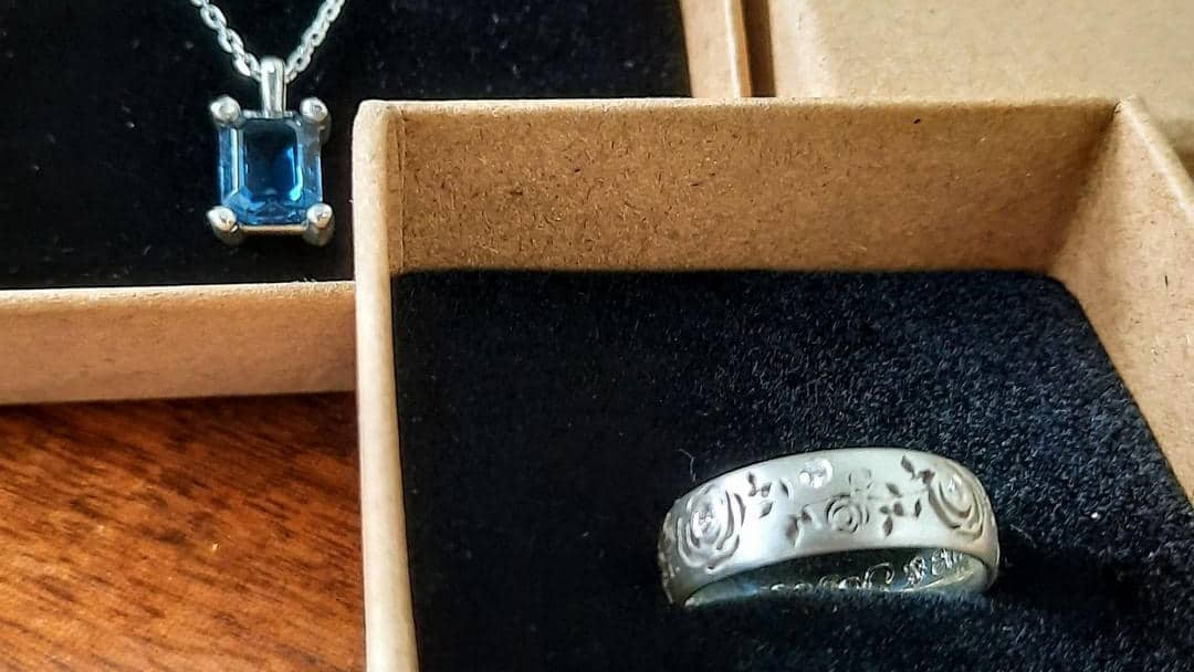 Two beautiful bespoke silver pieces